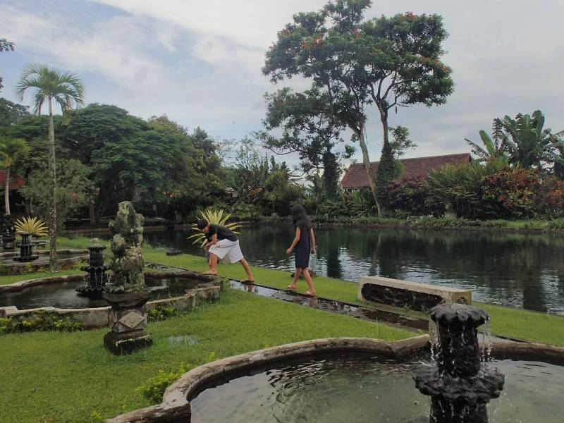 バリ島水の離宮ティルタガンガ