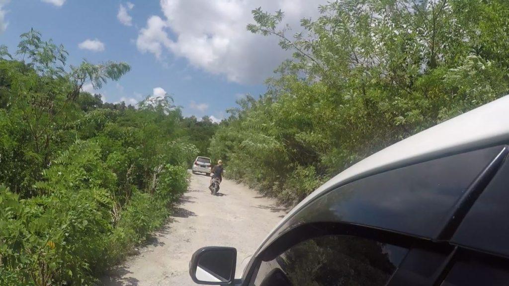 ペニダ島の道