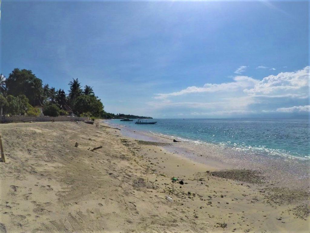 ペニダ島SDポイントのビーチ