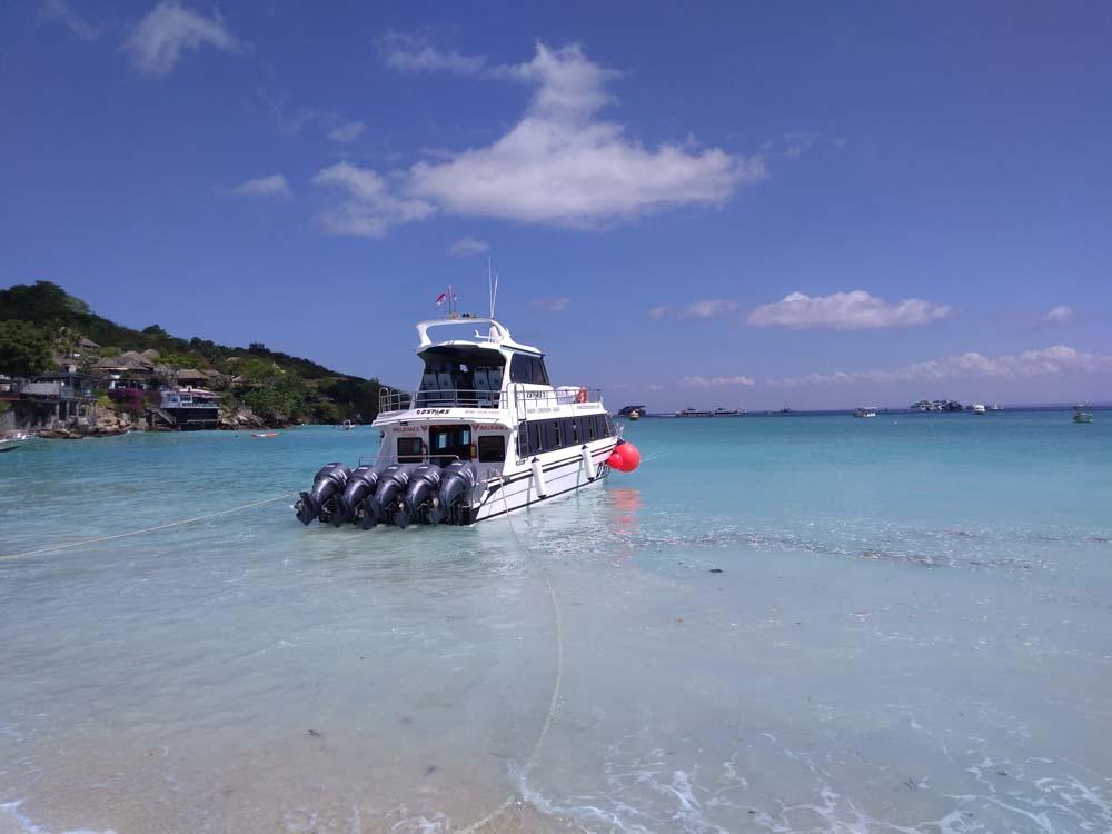 レンボンガン島ジュングンバトゥビーチ