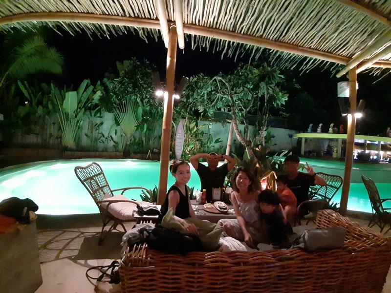バリ島サヌール 家族旅行